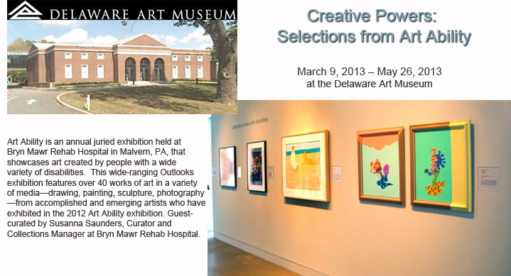 """Creative Powers: Selections from Art Ability"" show at Delaware Art Museum"